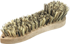 Single Wing Scrubbing Brush – Timber w Poly Fill