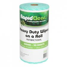 Rapid Economy Wiper Perforated 45mtrs – Green