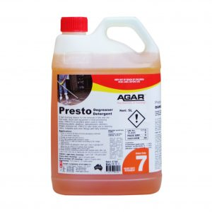 Agar Presto Concentrated Caustic Degreaser 5lt