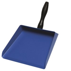 Metal Dustpan with poly handle