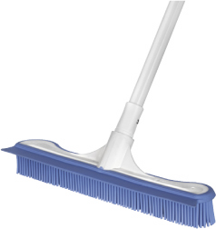 Electrostatic Pet Hair Broom with extend handle