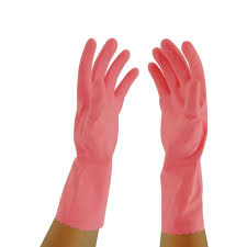 Oates Silver Lined Gloves  Pink #10